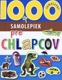 1000 samolepiek pre chlapcov