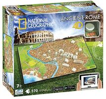4D Cityscape - 4D Puzzle National Geographic Starověký Řím