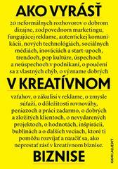 Ako vyrásť v kreatívnom biznise - Kamil Aujeský