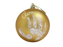 BABY ART - Vánoční koule Christmas Ball Gold