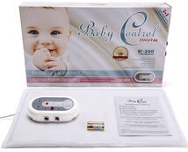 BABY CONTROL - Monitor dechu Baby Control BC-200, s 1x1 senzorovou podložkou