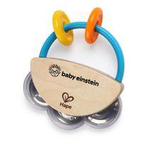 BABY EINSTEIN - Hračka dřevěná hudební tamburína HAPE 3m+