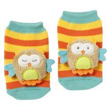 BABY FEHN - Forest chrastící ponožky sova