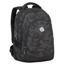 BAGMASTER - Studentský batoh SUPERNOVA 8 B BLACK/PINK/VIOLET
