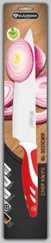 BLAUMANN - Kuchařský nůž čepel 20 cm červený, BL-3021CWR