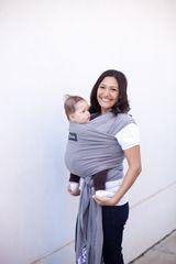 BOBA - Nosič dětí / šátek Boba Wrap - Grey