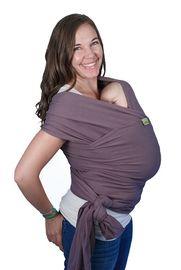 BOBA - Nosič dětí / šátek Boba Wrap Organic - Dark Gray