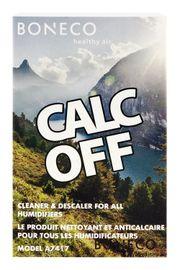 BONECO - A7417 CalcOff čistící a odvápňovací přípravek 3ks
