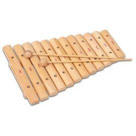 BONTEMPI - Dřevěný xylofon XLW12