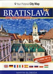 Bratislava mapa centra mesta - Martin Sloboda