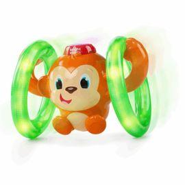 BRIGHT STARTS - Hračka svítící hudební opička LLB Roll&Glow™ 6-36m