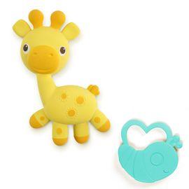 Bright Starts - Kousátko žirafka+brouček Soothimals™ 0m+