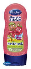 BÜBCHEN - Kids šampon a sprchový gel 2v1 Veselá malina 230 ml