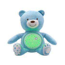 CHICCO - Hračka medvídek s projektorem - modrá