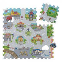 Chicco - Pěnové puzzle Město 30x30cm 9ks