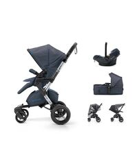 CONCORD - Mobility Set Neo Air.Safe+Scout Deep Water Blue Concord 2017