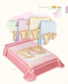 COPITO - Deka dětská Gold 548 Pink 80x110 cm
