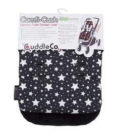 CUDDLECO - Paměťová podložka do kočárku COMFI-CUSH - Stars