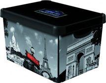 CURVER - Dekorativní úložný box - L - PARIS