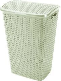 CURVER - Koš na špinavé prádlo Y Style Rattan 55 l - krémový