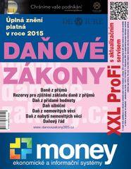 Danové zákony 2015 XXL ProFi - Komplet tištěné publikace s úplnými zněními danových zákonů platnými v roce 2015 s e-bookem a pravidelným aktualizačním