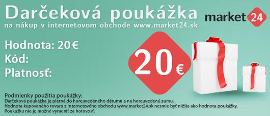 Dárková poukázka - 20 EUR