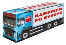 DINOTOYS - Společenská hra S kamionem po Evropě