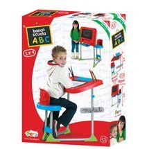 FARO - Dětská kovová lavice se židlí a tabulí 2v1 8100