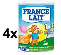 FRANCE LAIT - France Lait 1až3 - 400g 4 Kusy