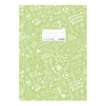 HERMA - Obal na sešit Schooldoo A4 světle zelený / 1ks