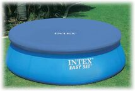 INTEX - krycí plachta na bazén kulatá o průměru 244 cm