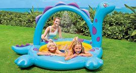 INTEX - Nafukovací dětský bazének Dinosaurus se sprškou 57437