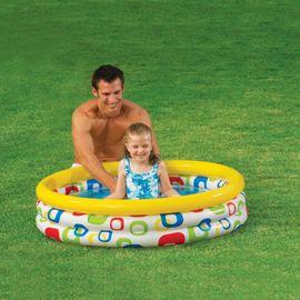 INTEX - nafukovací dětský bazének s geometrickými vzory 59419