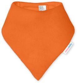 IVEMA BABY - Bavlněná šátek / bryndák - oranžová