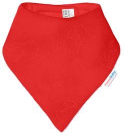 IVEMA BABY - Fleesová šátek na krk - červená