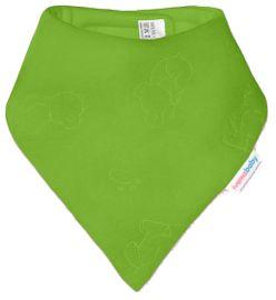 IVEMA BABY - Fleesový šátek na krk - limetka