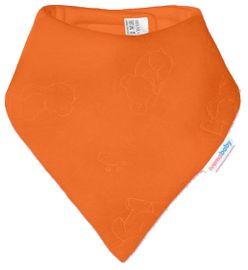 IVEMA BABY - Fleesová šátek na krk - oranžová