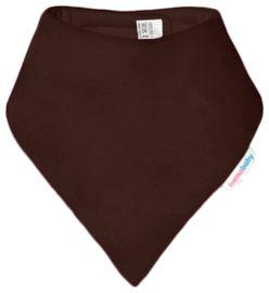 IVEMA BABY - Fleesová šátek na krk - tmavě-hnědá