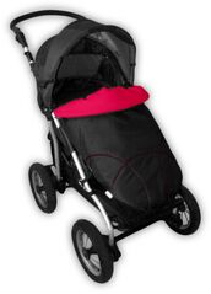 IVEMA BABY - Nánožník Maxi Sport - malina