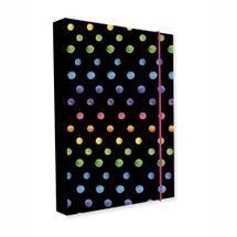 KARTON PP - Box na sešity A4 Jumbo Dots Colors