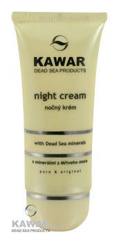 Kawar - Noční krém s minerály z Mrtvého moře 60ml