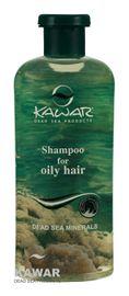 Kawar - Šampon na mastné vlasy s minerály z Mrtvého moře 400ml
