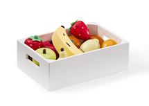 KIDS CONCEPT - Ovoce v bedýnce dřevěné Bistro
