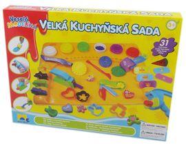 KIDS TOYS - Modelína Kuchyňská Souprava S Podložkou Velká