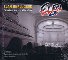 Kniha+CD-Elán Unplugged Carnegie Hall - Elán