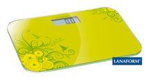 LANAFORM - Electronic Scale digitální osobní váha zelená