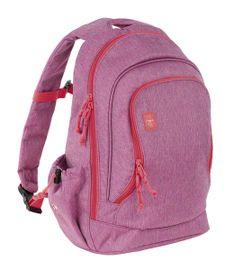 LÄSSIG - Dětský batoh Big Backpack About Friends mélange pink