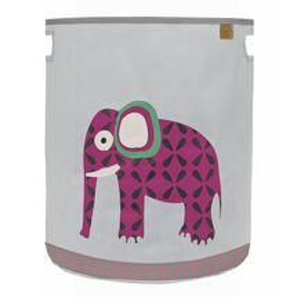 LÄSSIG - koš na hračky, Toy Basket Wildlife elephant
