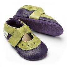 Liliputi - Sandály Sahara purple- vel. S (6-12 měsíců)