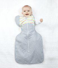 LOVE TO DREAM - Rychlozavinovačka Swaddle Up 50/50 Winter, Multi Stripe 8,5 - 11 kg